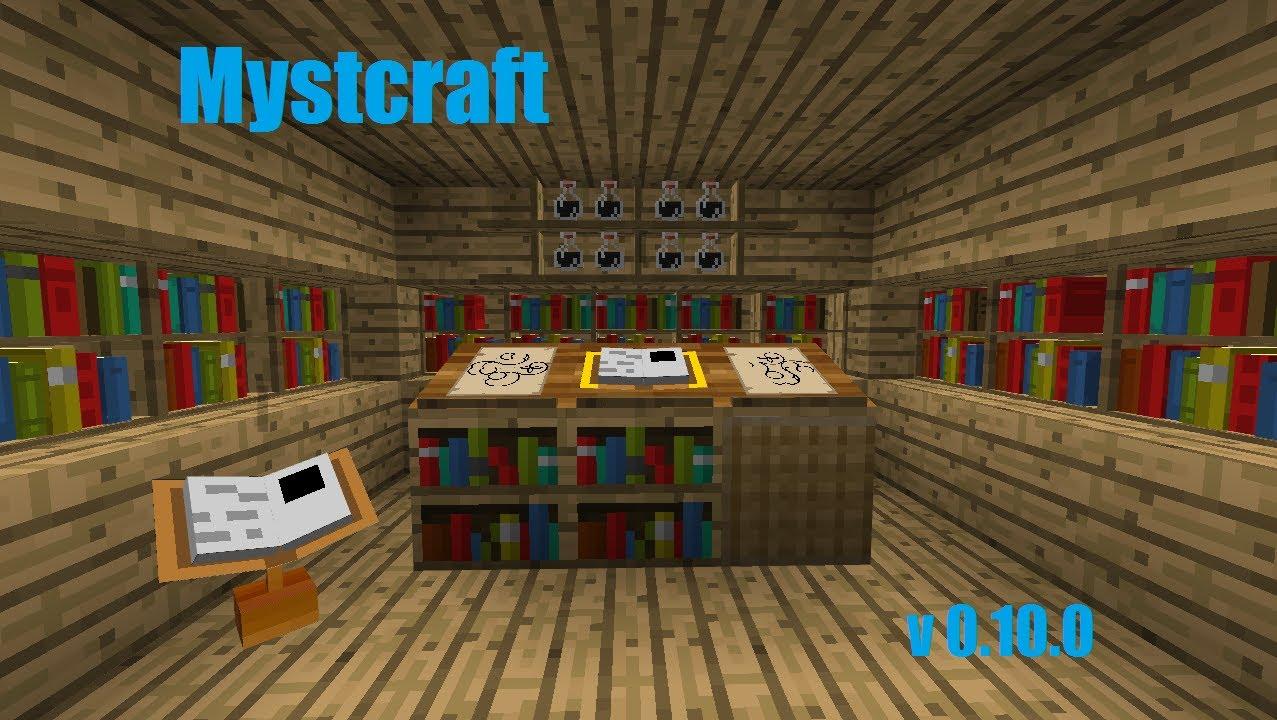 Minecraft Mystcraft Tutorial - YouTube