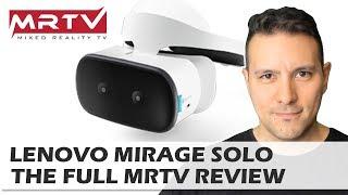 Lenovo Mirage Solo MRTV Review - Better Than The Oculus Go? Oculus Go vs. Mirage Solo Comparison