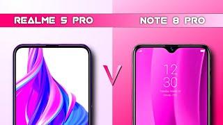 Redmi Note 8 Pro VS Realme 5 Pro - Price, Specifications, Full Comparison