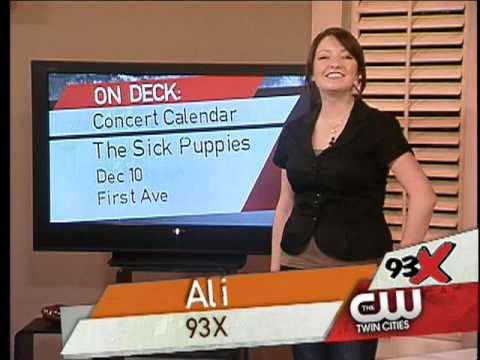 93x concert update w/ ali 12 3 youtube