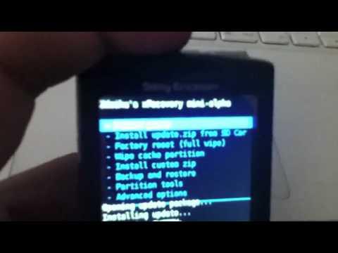 Tutorial. Instalar Android 2.2.1 en Sony Ericsson Xperia X10 Mini Pro