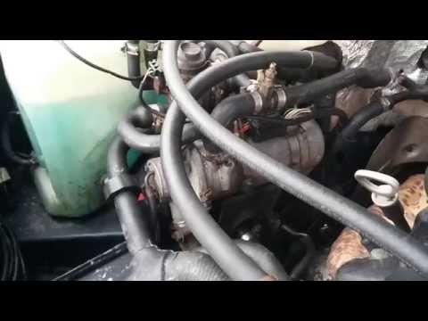 Mercedes-benz W124 E230 .... Webasto Bbw 46 ( 4,6 Kw) Benzina video