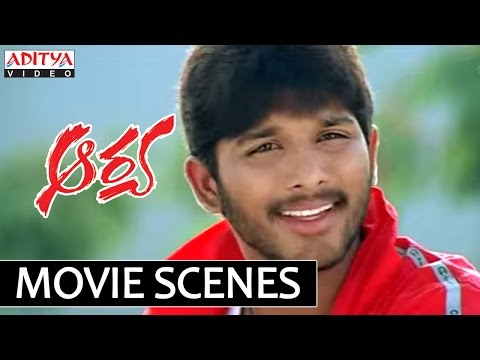 Allu Arjun Aarya Comedy Scenes -  Allu Arjun Love Letter Comedy video