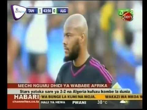 taifa stars yatoka sare ya bao 2 kwa 2 dhidi ya algeria   new
