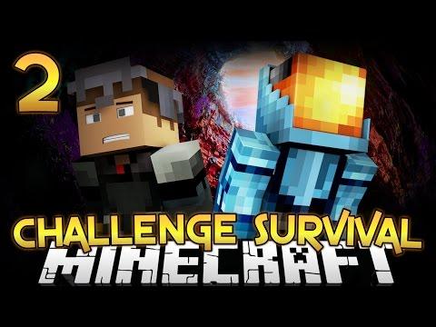 Challenge Survival Part 2 - Minecraft Diversity 2 - Survival video