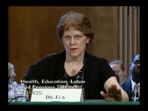 Alieta Eck, M.D. testifies to Senate about a bette