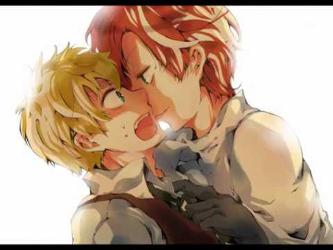 Hetalia - Scotland[Kiss with a fist]
