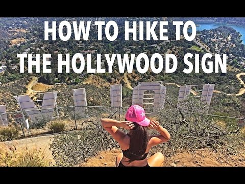 How to Hike to the Hollywood Sign