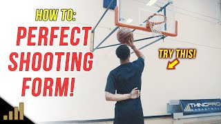 How to: Shoot a Basketball Better for Beginners! (Basketball Shooting Form)