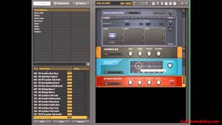 Studio Bass Amp - Native Instruments Guitar Rig - Pt 2 of 2