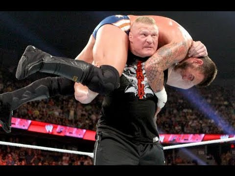 Raw 6/17/13: BROCK LESNAR RETURNS AND F5s CM PUNK Review
