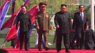 Kim Jong-Un makes public appearance in Pyongyang