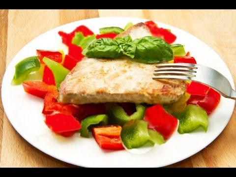 Судак запеченный в духовке ♥ ФИТНЕС-РЕЦЕПТЫ ♥ Baked fish Recipe