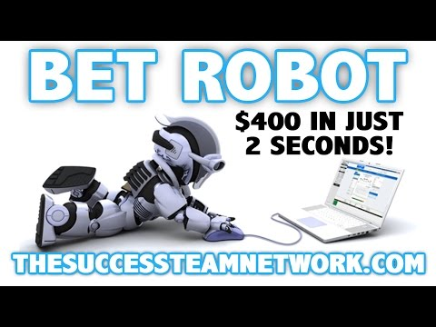 Bet Robot – The Secret Is Out! | BetRobot Review $400 In 2 Seconds! (PROOF)