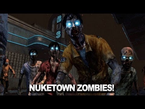 Black Ops 2 Nuketown Zombies Trailer