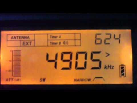4905 kHz Radio Relogio ,  Rio de Janeiro - RJ ,  Brazil