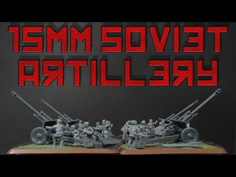 Flames of War Soviet Reserve Artillery Battalion [15mm]