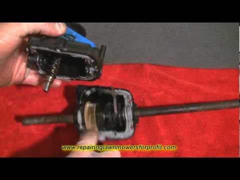 Repairing Lawn Mowers For Profit Part 14 ( Lawnmower Self Propelled Gear Repair And Help)