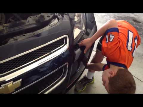 How To Fix A Headlight On A 2009 Chevy Malibu Done By A 7