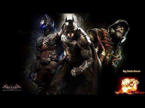 (игры про супер героев) обзор игры Batman: Arkham Knight