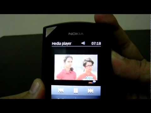 Watch Live TV Channels on Nokia Asha 303 Demo Video