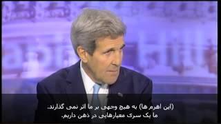 جان کری: اثبات صلح آمیز بودن برنامه هسته ای ایران کار سختی نیست