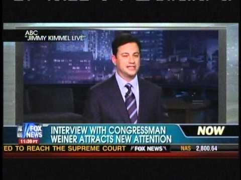 FUNNY! Jimmy Kimmel on fight between Fox s Megyn Kelly & Rep. Weiner