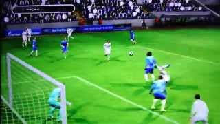 Karim Benzema Bicycle kick  Real Madrid on PES 2013 - PS3