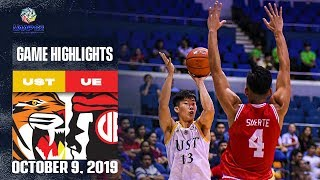 UST vs. UE - October 9, 2019  | Game Highlights | UAAP 82 MB
