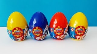 NEW 2017!!! Surprise eggs /Fireman Sam /Feuerwehrmann Sam/ Strażak Sam / İtfaiyeci Sam /пожарный Сэм