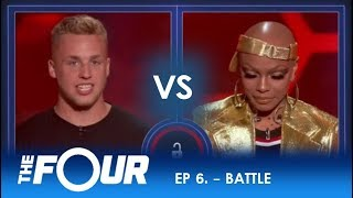 AJ Reynolds vs Sharaya J: This Rap Battle Sets HISTORIC Record On The Four!  | S2E6 | The Four