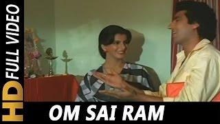 Om Sai Ram Asha Bhosle Suresh Wadkar Insaniyat Ke Dushman 1987 Songs Dharmendra Smita Patil