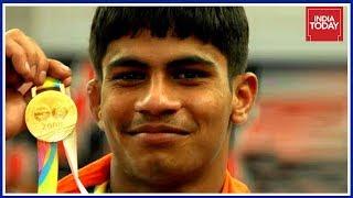 India's Gold Rush At #CWG2018: Wrestler Rahul Aware Wins Gold