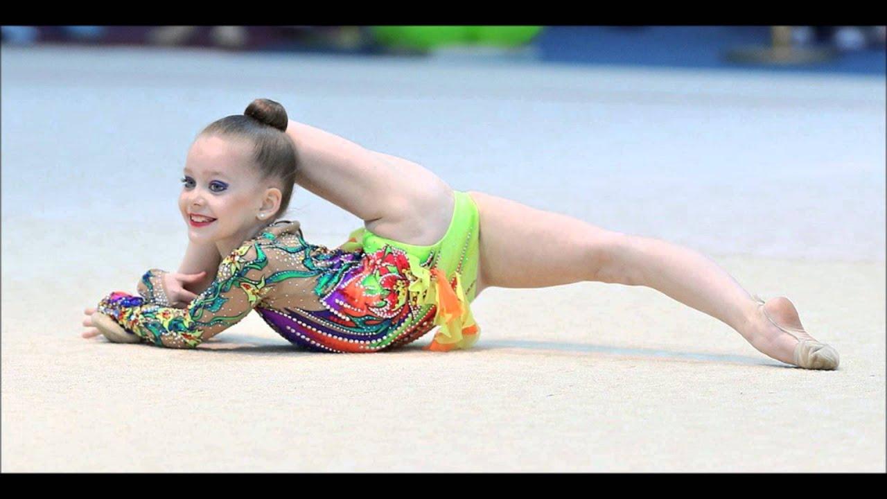 Гимнастика для детей макияж