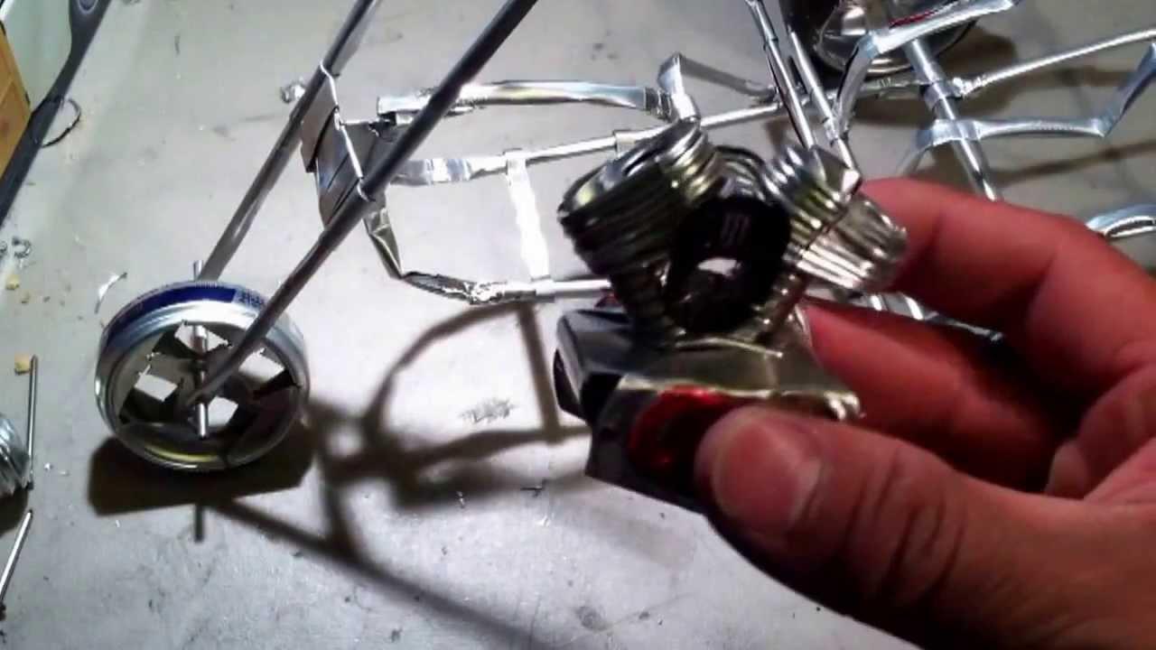 Tutorial parte 3 como hacer un triciclo youtube - Como hacer farolillos de feria ...