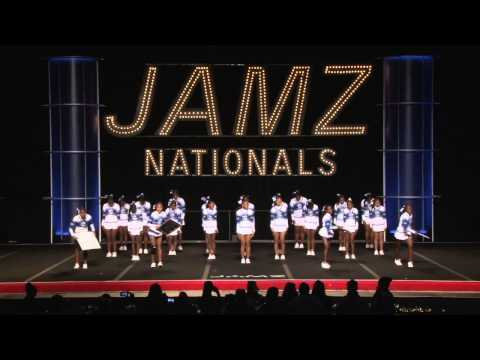 Carson Colts BOMB Squad 2013 JAMZ National Champions in Show Cheer