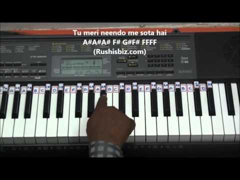 Teri Galliyan..... Galliyan......(PIANO TUTORIALS) - EK VILLAIN