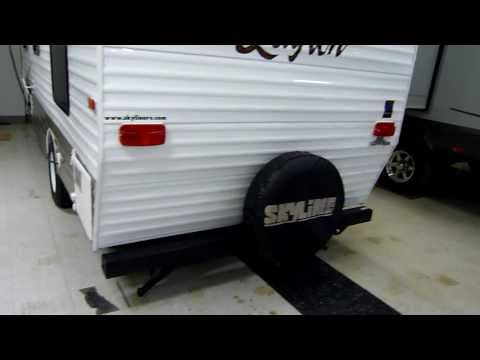 "2012 Layton ""Retro"" Model 186 Travel Trailer presented by Terry Frazer's RV Center"