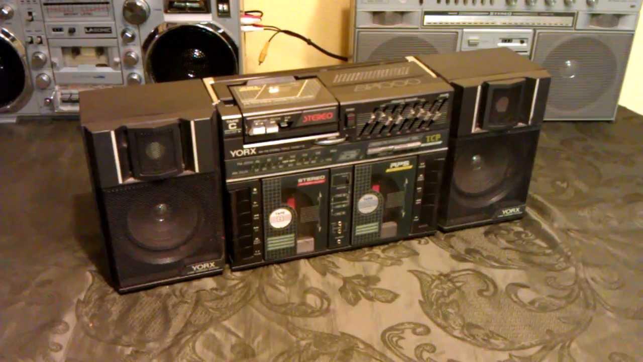 Yorx Bp1000 Triple Cassette 1980 S Boombox Youtube