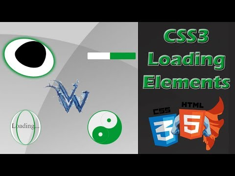 CSS Preloader Animation   Learn html and css   html tutorial By Amazing Techno Tutorials