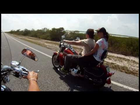 HarleyDavidson Motorcycle Ride,Key Largo to Key West, by GnarlyDavidsonNYC 2012