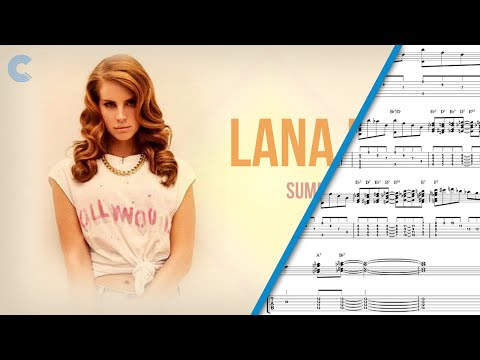 Tuba   Summertime Sadness   Lana Del Rey   Sheet Music, Chords, and Vocals