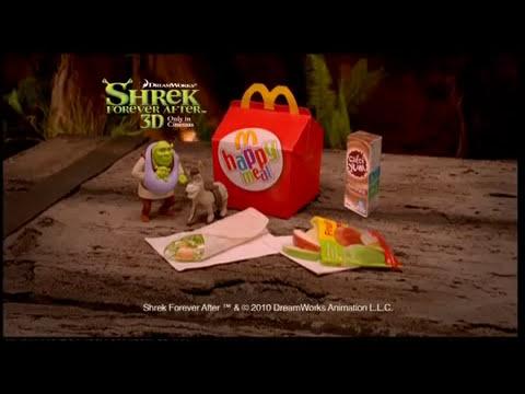 McDonalds Shrek 4