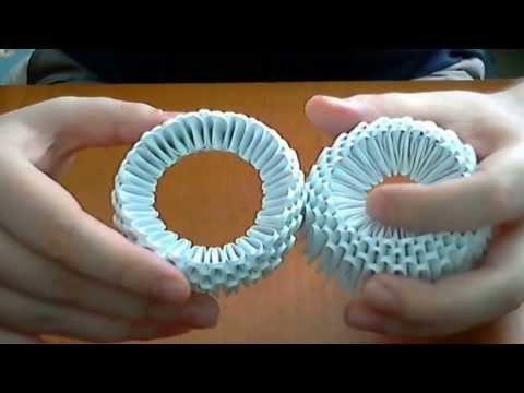 media vase origami 3d tutorial
