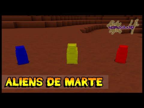 Fui pra Marte e Achei Aliens!! - Nofaxuland 4 #133 (Minecraft + Mods 1.7.10)