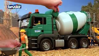 MAN TGS Betonmisch LKW -- 03710 -- Bruder Spielwaren