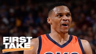 Stephen A. Smith Not Ready To Hand MVP Over To Russell Westbrook | First Take | April 10, 2017