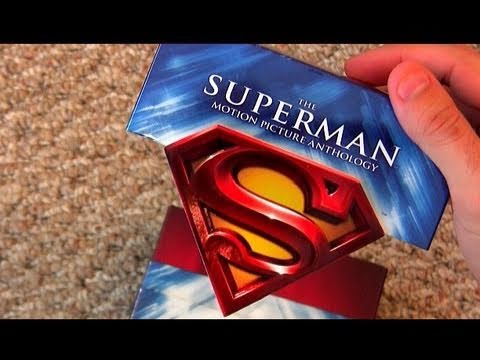 Superman Anthology blu ray unboxing review