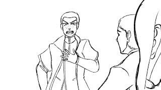 "Markus hates the word ""BONE"" || DBH Animatic"