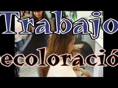 Techniques Hair Blonde Woman - Decoloracion en Cabello Intenso